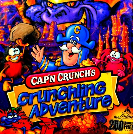 Cap'n crunch's crunchling adventure cover