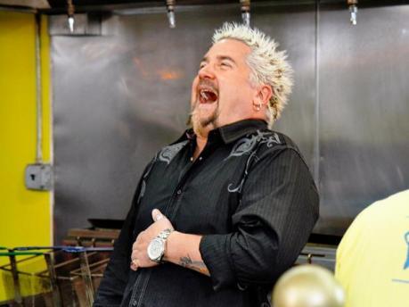 guy fieri laughing
