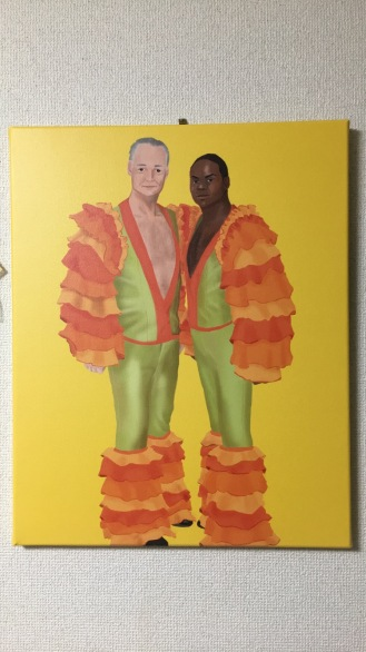 Whose Line Canvas Painting