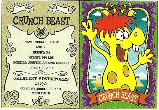 Crunchberry Beast card